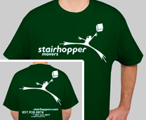 Stairhopper T-Shirt - Large